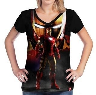 Camiseta homem de ferro the machine - Marvel - comprar online