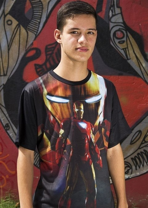 Camiseta homem de ferro the machine - Marvel