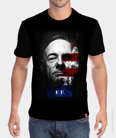 Camiseta Frank Underwood - House of Cards