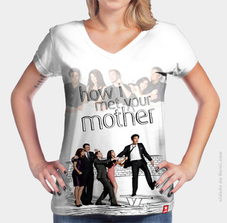 Camiseta Personagens How I Met Your Mother