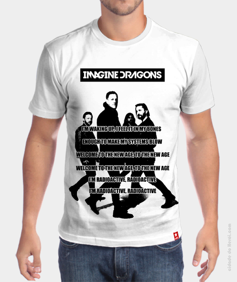 Camiseta Radioactive - Imagine Dragons