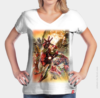 CAMISETA THE OLD IRON MAN - HOMEM DE FERRO - comprar online