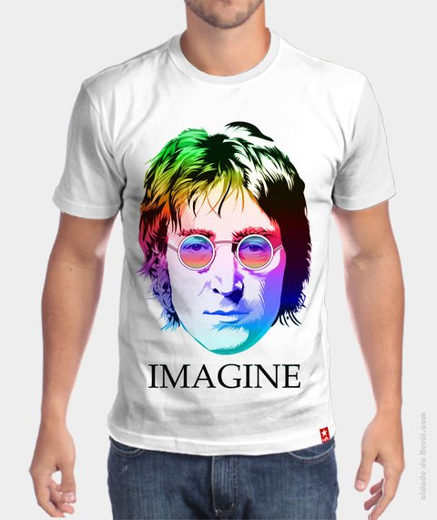 Camiseta Imagine - John Lennon