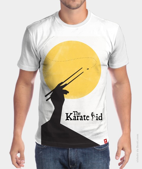 Camiseta Karate Kid - comprar online
