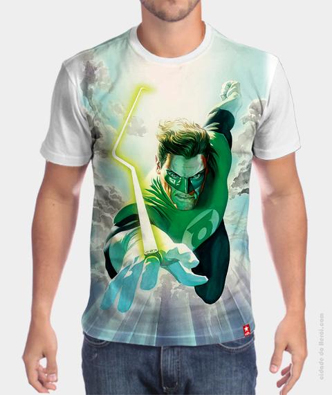 Camiseta Hal Jordan - Lanterna Verde