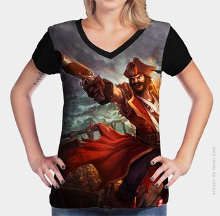 Camiseta League of Legends Gangplank - comprar online