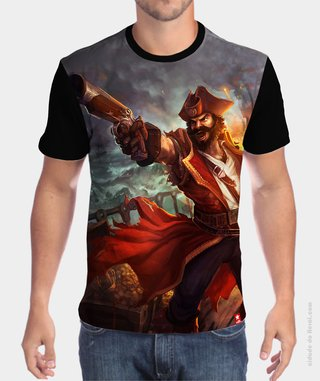 Camiseta League of Legends Gangplank