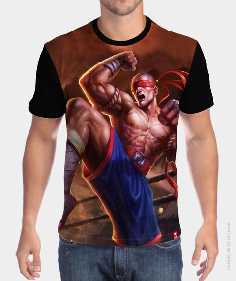 Camiseta League of Legends Lee Sin