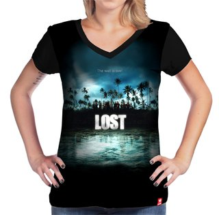 Camiseta Lost na internet