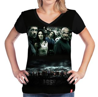 Camiseta Personagens - Lost - comprar online