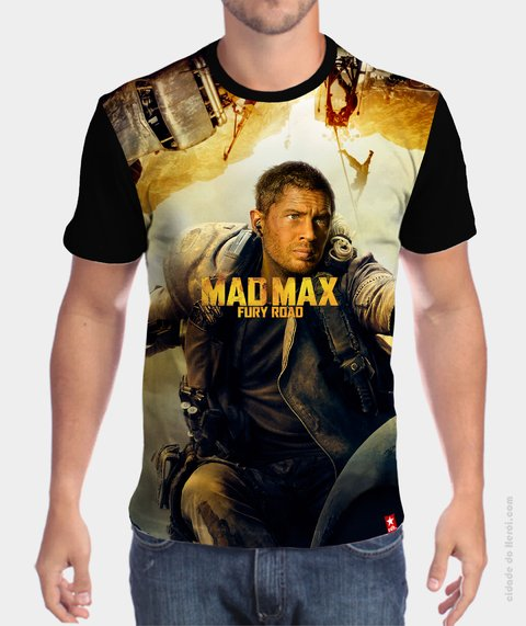 Camiseta Fury Road - Mad Max