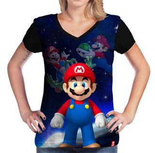 Camiseta The Mario Bros na internet
