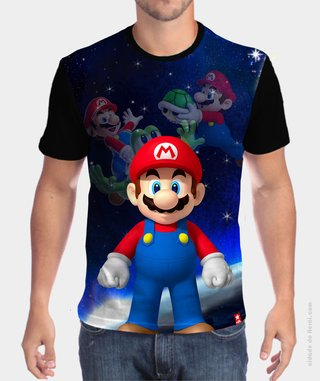 Camiseta The Mario Bros