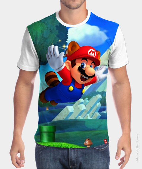 Camiseta Mario Bros World