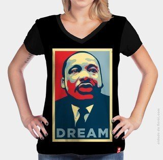 Camiseta Hope - Martin Luther King