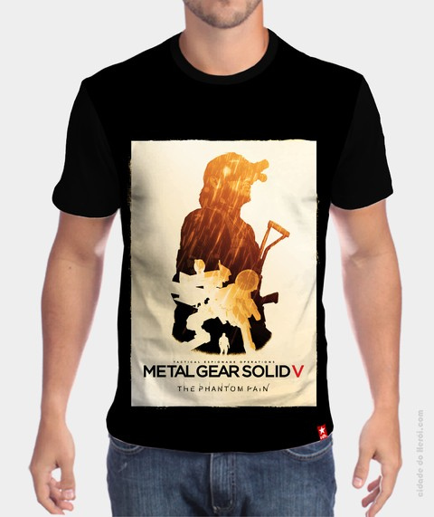Camiseta Metal Gear Solid - The Phantom Pain