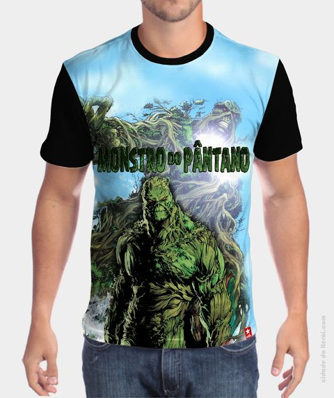 Camiseta Alex Olsen - Monstro do Pântano