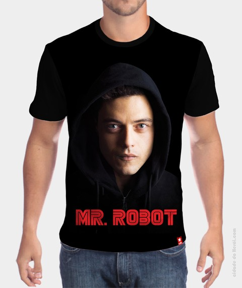 Camiseta Elliot Alderson - Mr. Robot