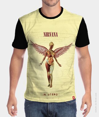 Camiseta In Utero - Nirvana