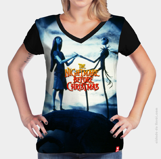 Camiseta  Jack and Sally - O Estranho Mundo de Jack