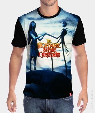 Camiseta  Jack and Sally - O Estranho Mundo de Jack na internet