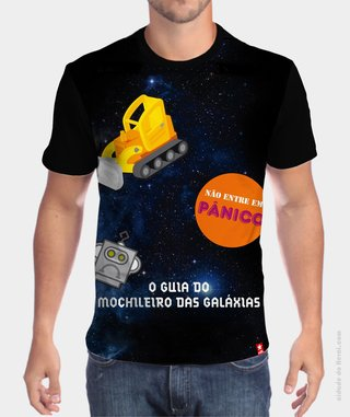 Camiseta The Hitchhiker's Guide to the Galaxy