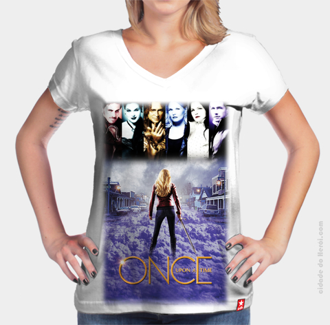 Camiseta Once Upon a Time