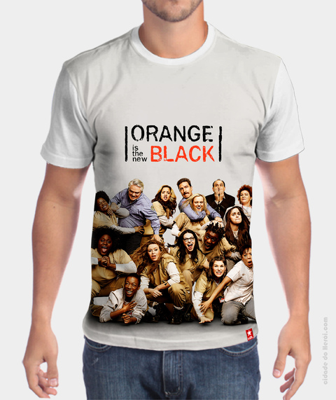 Camiseta Personagens - Orange is The New Black