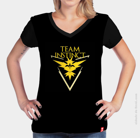 Camiseta Team Instinct - Pokémon