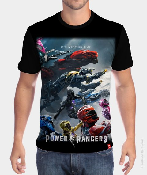 Camiseta Power Rangers