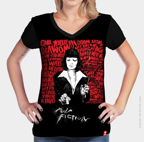 Camiseta Pó - Pulp Fiction - comprar online