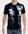 Camiseta Chris Redfield e Leon Kennedy - Resident Evil