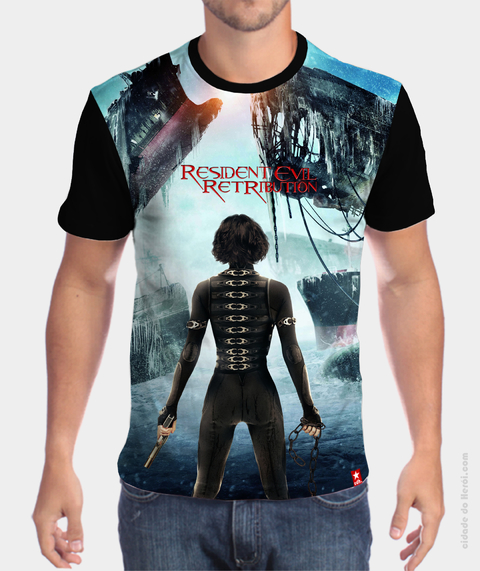 Camiseta Retribution - Resident Evil