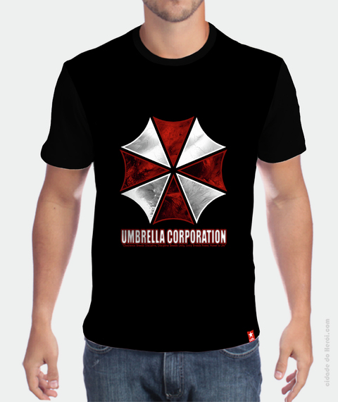 Camiseta Umbrella Corporation - Resident Evil