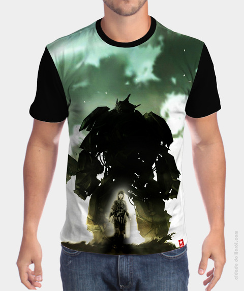 Camiseta Wander - Shadow Of Colossus