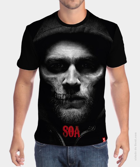 Camiseta SOA - Sons of Anarchy - comprar online