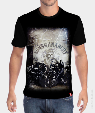 Camiseta Moto Clube Sons of Anarchy