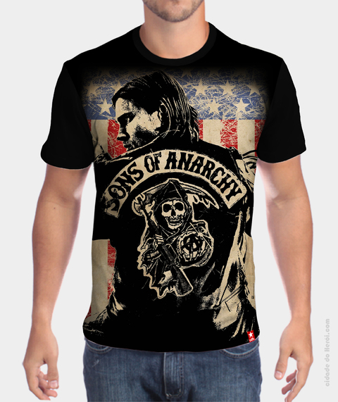 Camiseta Jax Teller - Sons of Anarchy