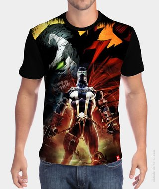 Camiseta O Soldado do Inferno - Spawn - comprar online