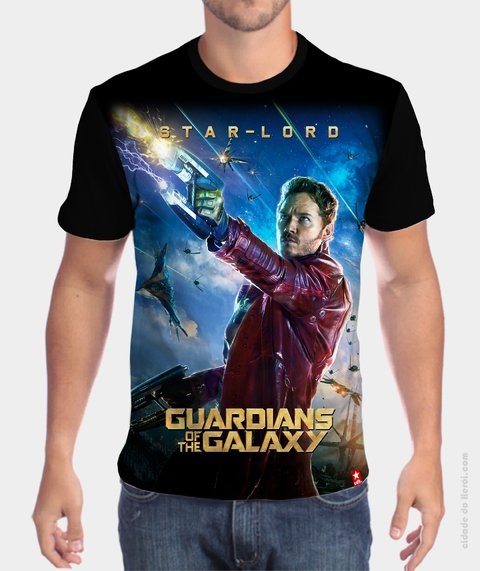 Camiseta Star - Lord - Guardiões da Galáxia