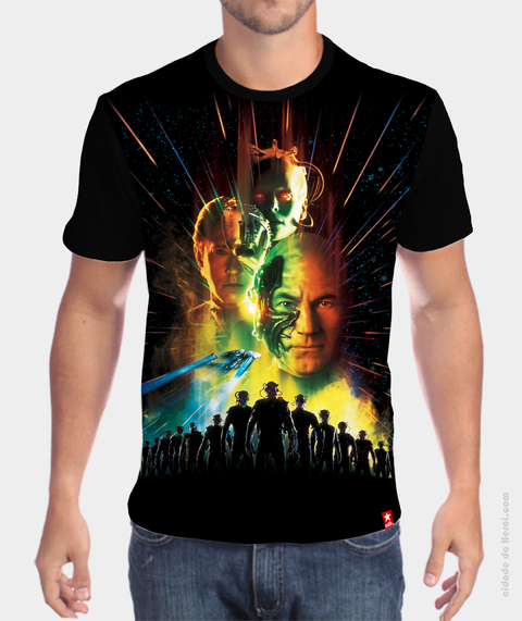 Camiseta First Contact - Star Trek