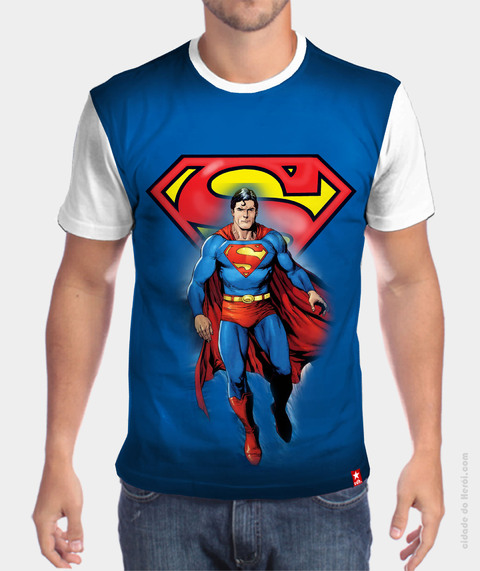 Camiseta Clark kent & Superman