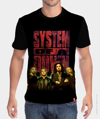 Camiseta Soad - System of a Down