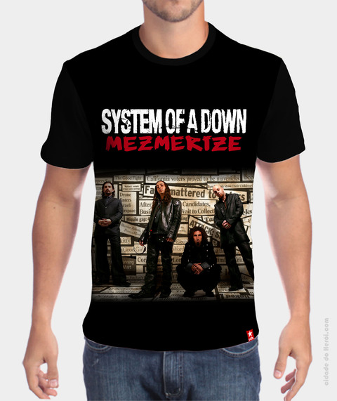 Camiseta Mezmerize - System of a Down