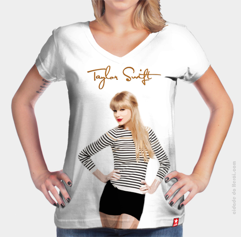 Camiseta cantora Taylor Swift