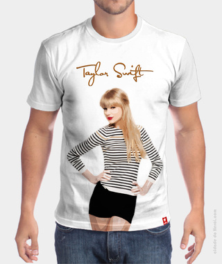 Camiseta cantora Taylor Swift na internet