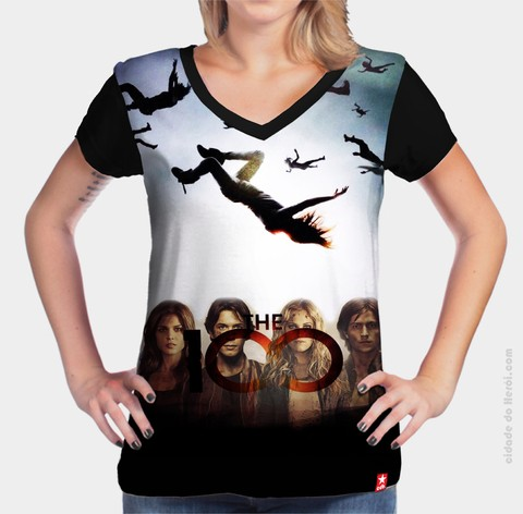 Camiseta Elenco - The 100