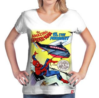 Camiseta Spider Man Retro na internet