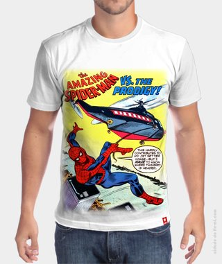 Camiseta Spider Man Retro