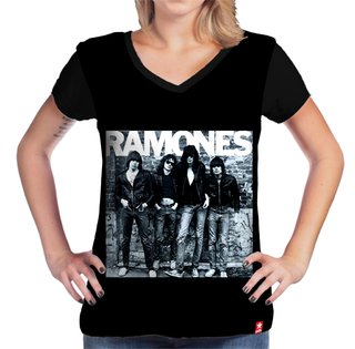 Camiseta The Ramones na internet